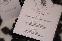 Stationery, Invitations, Paper / by Angela Bardis