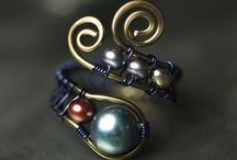 Wire wrapped / by Linda Luna