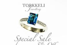 On Sale By Torkkeli Jewellery / Fine jewelry pieces ready to ship& with special Prices / by Pasi Torkkeli