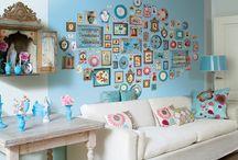 wall paper and paint / by Sara Rivka Dahan