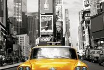 New York City - Taxi Love. / by Andrea DeBergalis