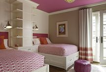 home: girls room / by Jenna Stoller