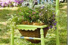 Cottage Gardens / by Ladybug Wreaths, Nancy Alexander