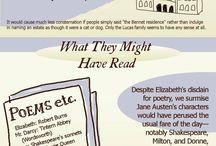 I ♥ Jane Austen / Mad about Jean Austen / by Balduqueando 2.0
