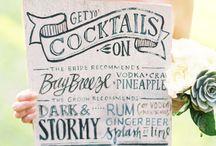 extravagant menus / by Amanda Roth | ARBR Pictures