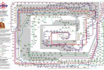 INFOGRAPHIC = CARTE NAVIGATION / Cet album répertorie les infographies du domaine de la navigation. Elles sont créées dans la logique de la carte de métro afin de parcourir les liens entre des ithèmes. / by Signos
