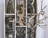 Found Object Art, Assemblage Art & More Art! / found object art,  assemblage art, paintings, sculptures, and more!  / by Roberta Karstetter