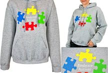 Autism Awareness Clothing / Every Purchase Funds Research and Therapy to Help Children with Autism.  / by GreaterGood