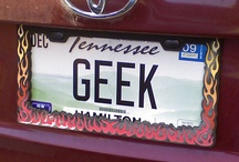 Geeky license plates / by B.S. Brown