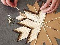 Match Stick Art / by Frances Parker