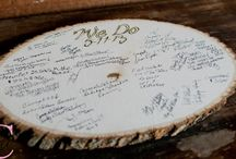 Guestbook Ideas / by The Farmhouse Weddings LLC