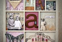 Shadowboxes/Trays / by april wilder