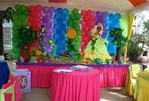 Fiestas infantiles / La princesa y el sapo / by Gladys Beatriz Méndez Méndez