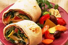 FOOD: It's A Wrap...or Sandwich / A variety of great sandwiches, wraps, and paninis. Any kind of food you can put between two slices of bread. Create your own. Anything goes. / by Angela Thompson