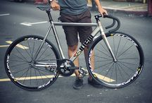 Bikes / I will be gathering amazing pictures of Track bikes and Road Bikes. / by Neil Tan