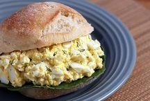 Food - Chicken, Egg, Ham Salads / by pc graystreet