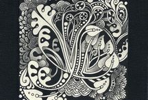 Zentangle Art / by Ronnette Bostick