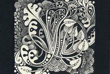 Zentangle Art / by Ronnette Bostick