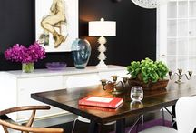 dining room designs / by Coleen Buates-Neufeld
