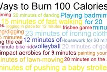 Time to burn calories!  / Since I am on a journey to lose weight, I'm looking for tips :) / by Alissa Guidroz