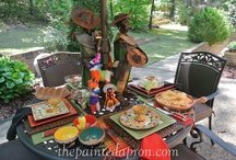 Mexican Fiesta! / food, drink and party decor  / by Jenna Meon