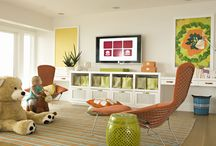 playroom storage / by PURE Inspired