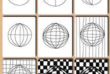 Art Ed - line/shape / by Denyse Cohen