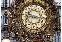 Clocks / Mechanical clocks are becoming soooo popular now! / by Fair Oaks Antiques