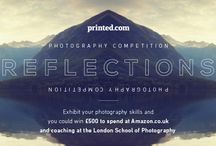 Reflections Photography Competition / Exhibit your photography skills and you could win £500 to spend at Amazon.co.uk and coaching at the London School of Photography. We're challenging you to produce a photograph around the theme 'reflections'. Enter by visiting https://offerpop.com/ad.psp?cid=664524&ref=pinterest / by printed.com