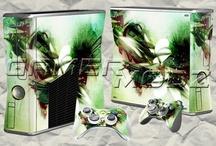 XBOX 360 Console Skins / Enhance your gaming experience with a visually stimulating XBOX 360 Console &Controller Skin Set from GamerModz - The Industry Leader in Modded Controllers and Accessories. GamerModz uses state-of-the art digital presses to provide vibrant photo quality graphics. / by GamerModz