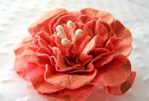 Flower tutorials / by Cheryl Himmel