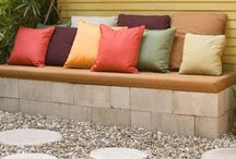outdoor living space / by Sarah Andrews