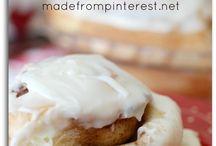 Food - Bread - Sweet Rolls / by Janey (Utah Valley Foodie)