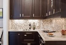 New Kitchen Backsplash / by Margie Lowry