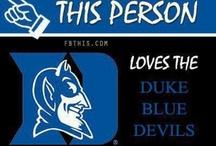 Duke Blue Devils / by Michaela Eyler