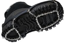 ICEtrekkers / ICEtrekkers goal is to provide the best possible products, at the best possible prices for the urban walker, firefighter, policeman or backcountry hiker. The 3 product range: Diamond Grips, Spikes and Chains provide traction solutions for all winter eventualities. / by ICEGRIPPER
