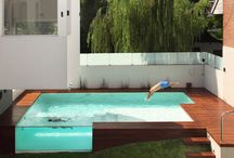Cool pools and spas / by Roxanne Forrest