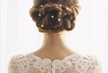 Wedding Hairstyles / Wedding Hairstyles / by Chic Wedding Invitations Collections | Jennifer R.