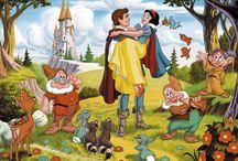 Looney tunes and Disney / by jan ronayne