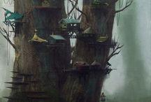 Bakgrounds and architeture 4 / by Татьяна Чернийчук
