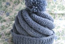 crochet / knit hats / by Marie Sacco
