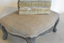 Ideas for footstool / by Patty Darrow