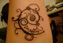 tattoos / by jan@twoscoopz