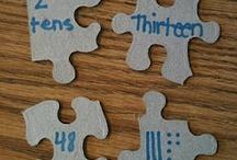 Math lesson ideas / by Lauren Delius