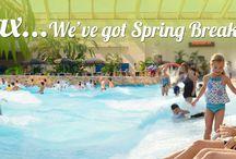 Spring Break / Relax... We've got Spring Break Covered / by Wilderness Wisconsin Dells