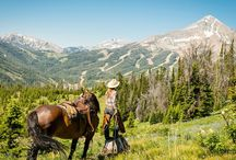 Places to Ride / A great trail ride, an adventure down a canyon wall, a gallop through an open field... the places you ride affect the way you ride. These are some of the most inspiring riding spots.  / by Horseclicks