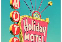 old motels..so cool / by Beth McDonald