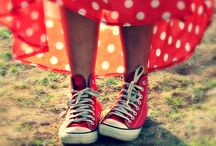 Rockin' Red / More color inspiration http://www.brightboldbeautiful.com/color-inspiration/ / by Laura Trevey
