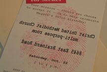 Spy Party ~ Logan's Next Theme Birthday!!! / by Tanya Macpherson