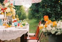 Dinner Party / Gorgeous settings perfect for a dinner party / by Lauren Rabadi